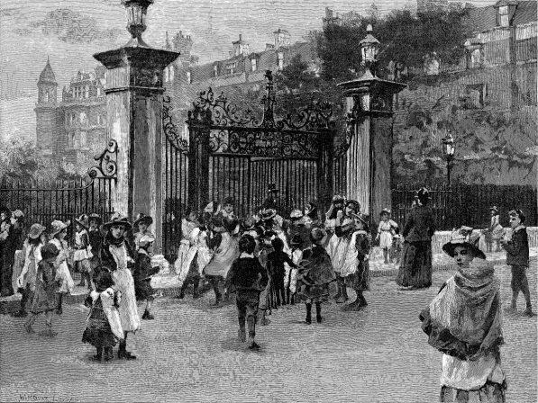 2-Children-at-IT-Garden-Gate-ILN-1889_0