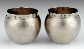 Charles II Silver-Gilt Tumbler Cups, 1671 or 1673.