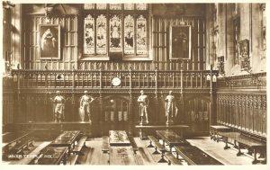 Inner Temple pre-war Hall