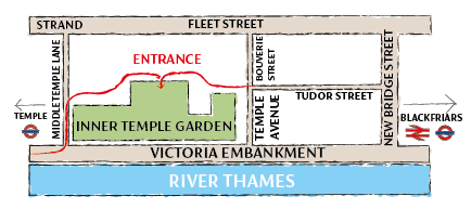 Map of the Garden