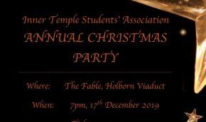 ITSA Christmas Party Flyer