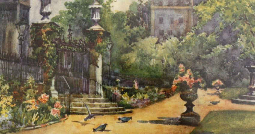 Inner-Temple-gardens-in-1905-owned-by-Master-Simon-Brown